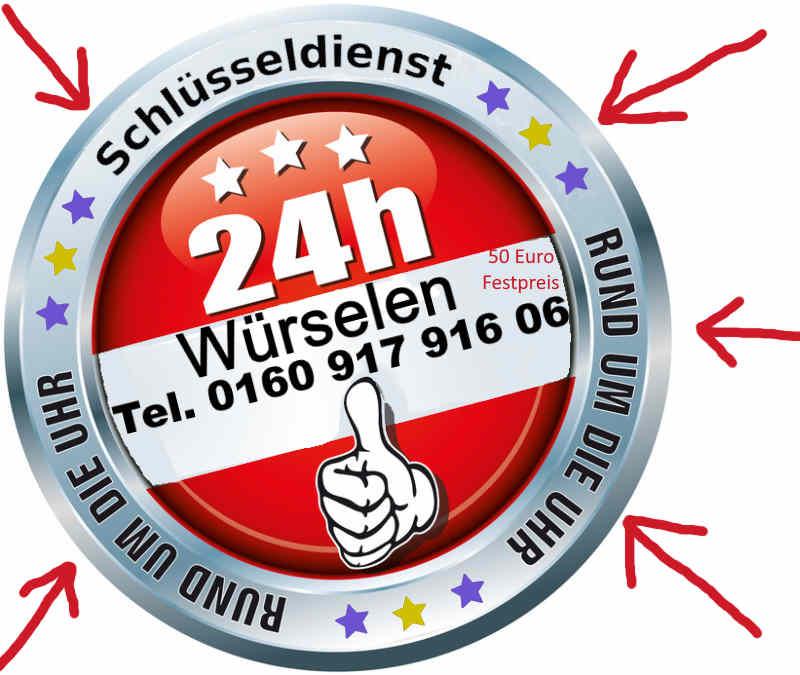 Schlüsseldienst Würselen - Schlüssel Notdienst Würselen Broichweiden Scherberg Morsbach Bardenberg Teut Oppen Haal Zum Festpreist