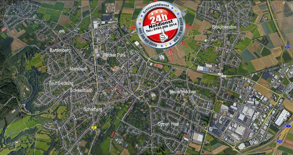 Schlüsseldienst Würselen - Heimat vom Schlüsseldienst Würselen Notdienst Monteur Karl