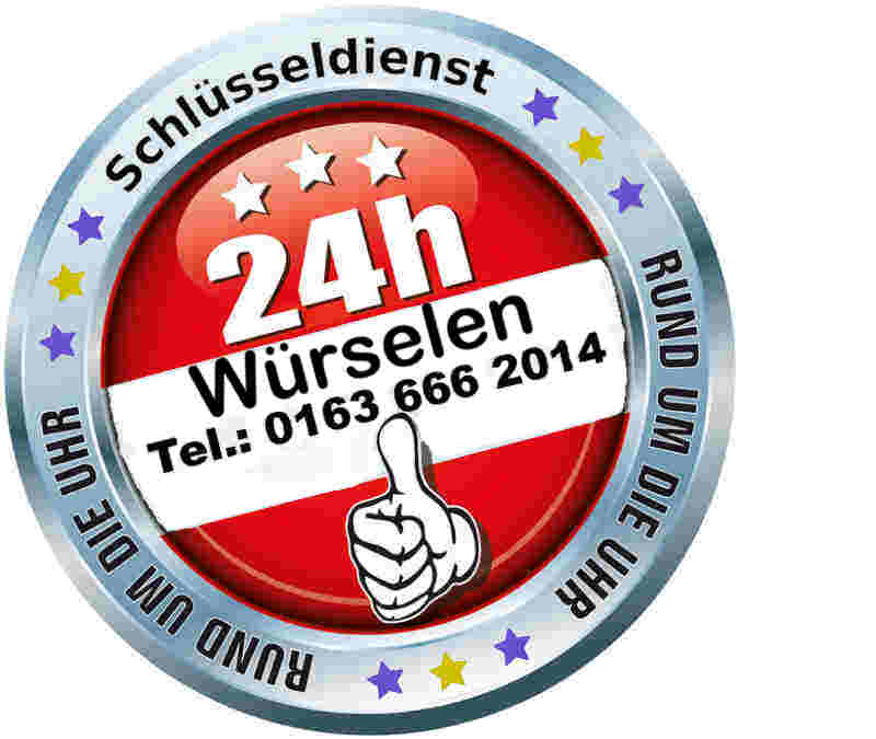 Schlüsseldienst Würselen - Notdienst Tag und Nacht zum 50 Euro Festpreis