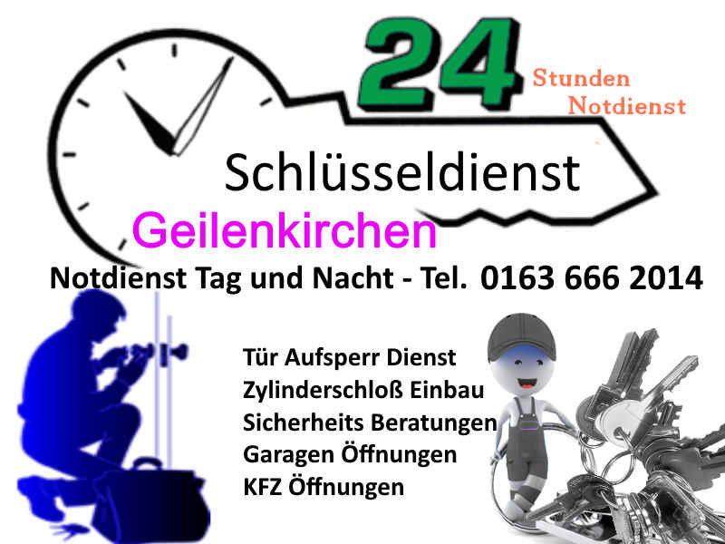 Schluesseldienst Geilenkirchen Frelenberg Übach Palenberg Teveren zum Festpreis