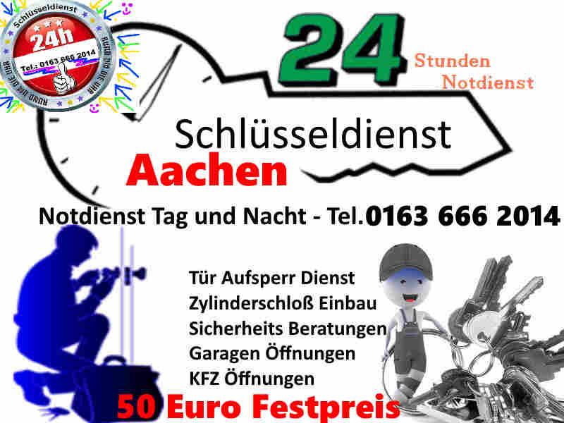 Schlüsseldienst Aachen Pontviertel sowie Aachen Brand Aachen Laurensberg und Richterich